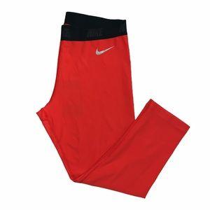 NEW Nike golf Dri fit crop coral leggings Small
